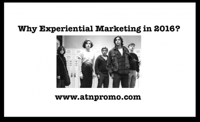 Experiential Marketing 2016 – Why invest?