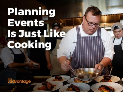 Planning Events Is Just Like Cooking