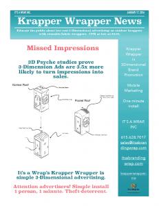 Krapper Wrapper News Jan 17th, 2016