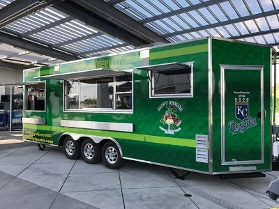 MLB Team Embraces Food Trucks at Stadium