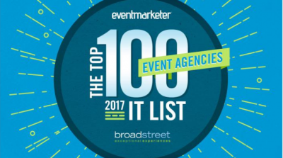 Broadstreet is listed as one of the top Event Agencies in America