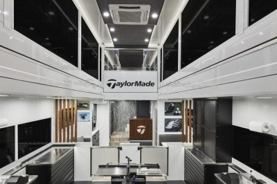 TaylorMade Tour Truck Interior