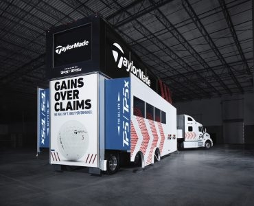 TaylorMade Tour Truck Offers Best View In Golf