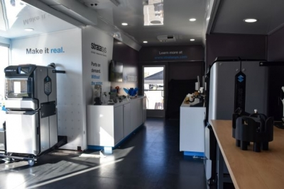 See 3D Printing in Action at the Stratasys Mobile Showroom