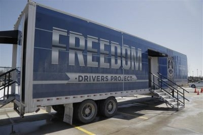 Freedom Drivers Project: Educational Exhibit Travels to Combat Sex Trafficking
