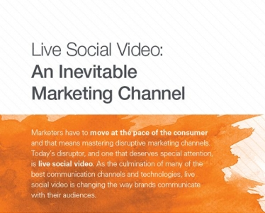 Live Social Video: An Inevitable Marketing Channel