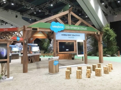 Dreamforce booth