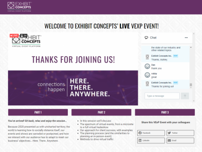 There Isn't Just One Virtual Event