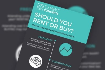 Featured Resource - Trade Shows: Renting vs. Buying