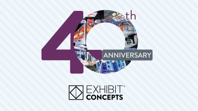 Exhibit Concepts Celebrates 40th Anniversary