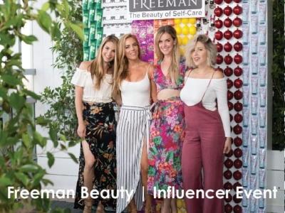 Freeman Beauty | Influencer Event