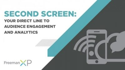 Second Screen: Your Direct Line to Audience Engagement and Analytics