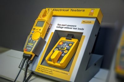 Fluke T6 Tester - Point of Purchase Display