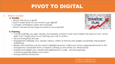Can't Host Events? Pivot To Digital!