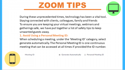 Here For You: Zoom Tips