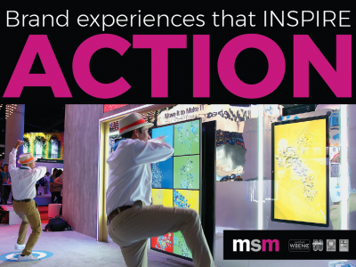 MSM | Live + Virtual Brand Experiences