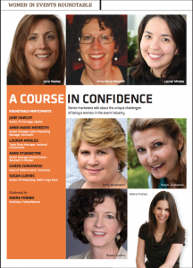 Women In Events: A Course In Confidence