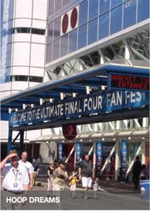 INSIDE FANFEST: NCAA Final Four Bracket Town