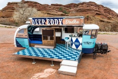 Deep Eddy Vodka Marketing Vehicle by Timeless Travel Trailers