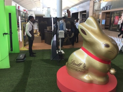 VideoBooth @ Lindt Golden Bunny Event