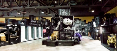 """Creating Crazy: The Art of Building Footlocker's """"Crazy"""" Trade Show Booth"""