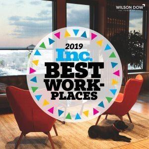 Wilson Dow Awarded Exclusive Industry Spot on INC Best Workplaces List