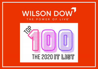 Wilson Dow Named Top Industry Partner on 2020 IT LIST