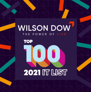 Wilson Dow Brings The Power of Live™ to the Top 100 List