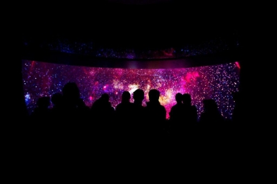 Immersive Dome featuring Cosmos on FOX.