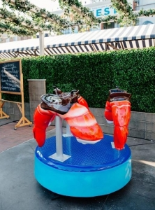 Custom Shrimp Carousel made for NBC's The Good Place.