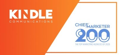 Chief Marketer Names Kindle Top 200 Marketing Agencies of 2020