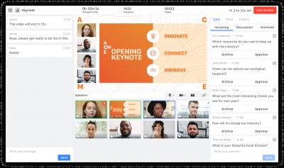 SpotMe announces their new solution for webinars, completing their B2B event marketing platform